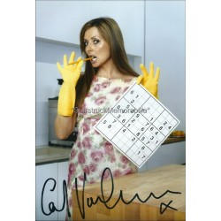 Carol Vorderman Autographed 11x8 Photo