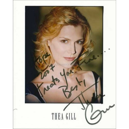 Thea Gill Autographed 10x8 Photo