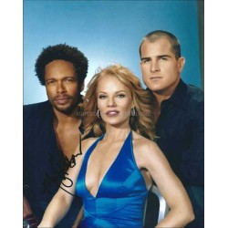 Marg Helgenberger Autographed 10x8 Photo