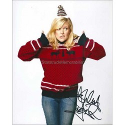 Ashley Jensen Autographed 10x8 Photo