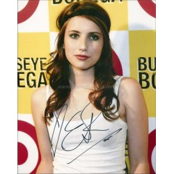 Emma Roberts Autographed 10x8 Photo