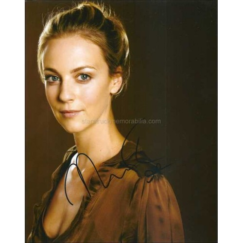 Miranda Raison Autographed 10x8 Photo