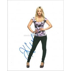 Kaley Cuoco Autographed 10x8 Photo