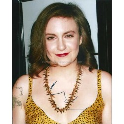 Lena Dunham Autographed 10x8 Photo