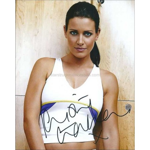 Kirsty Gallacher Autographed 10x8 Photo