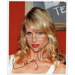 Lucy Punch Autographed 10x8 Photo