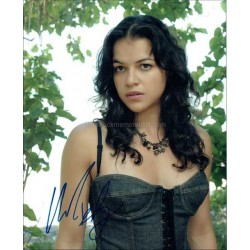 Michelle Rodriguez Autographed 10x8 Photo