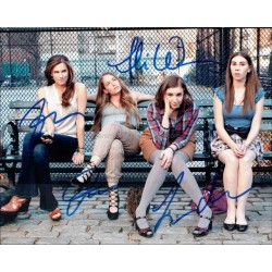 Girls Autographed 10x8 Photo