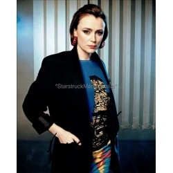 Keeley Hawes Autographed 10x8 Photo