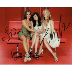 Lipstick Jungle Autographed 10x8 Photo