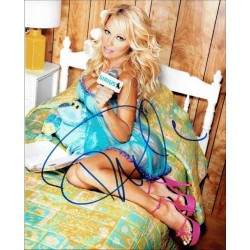 Pamela Anderson Autographed 10x8 Photo