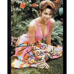 Chase Masterson Autographed 10x8 Photo