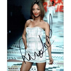 Jourdan Dunn Autographed 10x8 Photo
