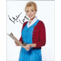 Helen George Autographed 10x8 Photo