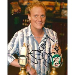 Antony Cotton Autographed 10x8 Photo