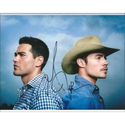 Dallas Autographed 10x8 Photo