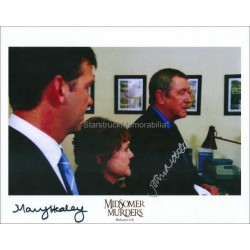 Midsomer Murders Autographed 10x8 Photo