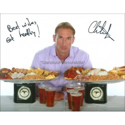 Dr Christian Jessen Autographed 10x8 Photo