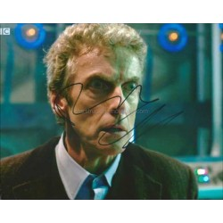 Peter Capaldi Autographed 10x8 Photo
