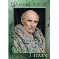 Donald Sumpter Autographed Trading Card