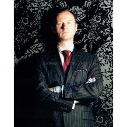 Mark Gatiss Autographed 10x8 Photo