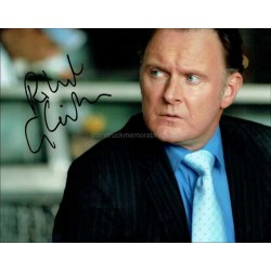 Robert Glenister Autographed 10x8 Photo