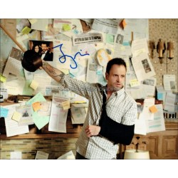 Jonny Lee Miller Autographed 10x8 Photo