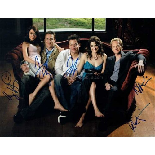 How I Met Your Mother Autographed 14x11 Photo