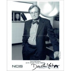 David McCallum Autographed 10x8 Photo