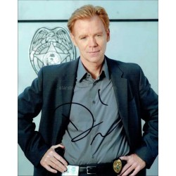 David Caruso Autographed 10x8 Photo