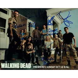 The Walking Dead Autographed 10x8 Photo
