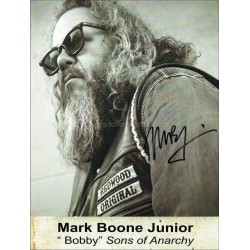 Mark Boone Junior Autographed 11x8 Photo
