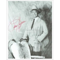 Larry Hagman Autographed 10x8 Photo