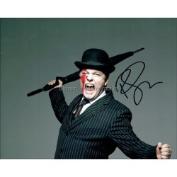 Ricky Gervais Autographed 10x8 Photo