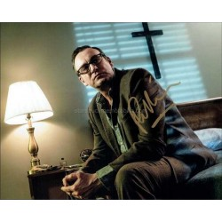 Philip Glenister Autographed 10x8 Photo