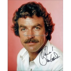 Tom Selleck Autographed 10x8 Photo