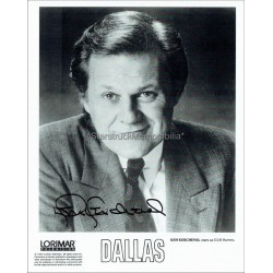 Ken Kercheval Autographed 10x8 Photo