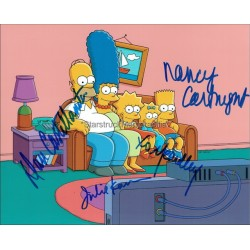 The Simpsons Autographed Photo