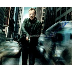 Kiefer Sutherland Autographed 10x8 Photo