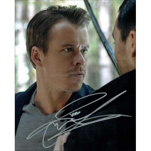 Todd Lasance Autographed 10x8 Photo