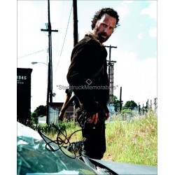 Andrew Lincoln Autographed 10x8 Photo