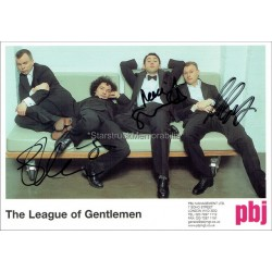 The League of Gentlemen Autographed 8x6 Photo