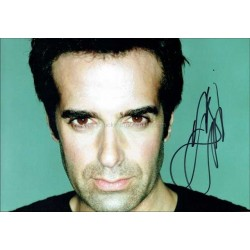 David Copperfield Autographed 12x8 Photo