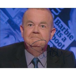 Ian Hislop Autographed 10x8 Photo