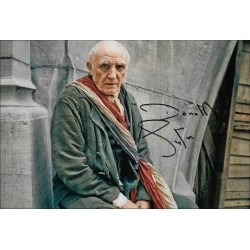 Donald Sumpter Autographed 12x8 Photo