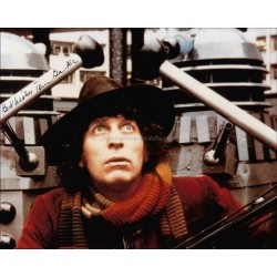 Tom Baker Autographed 10x8 Photo
