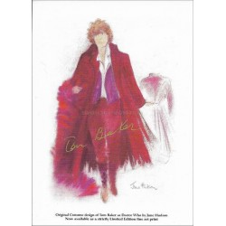 Tom Baker Autographed 6x4 Photocard