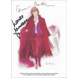 Doctor Who Autographed 6x4 Photocard