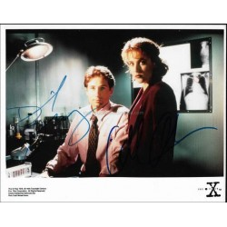 The X-Files Autographed 10x8 Photo