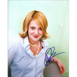 Drew Barrymore Autographed 10x8 Photo